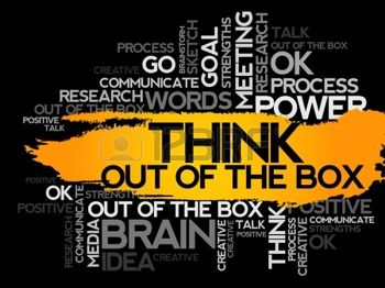 think outside of the box with pain