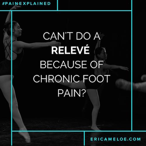 Ballerina Foot Pain